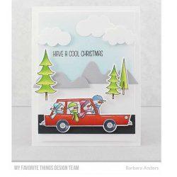 My Favorite Things Cool Christmas Stamp Set