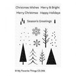 My Favorite Things Trio of Trees Stamp Set