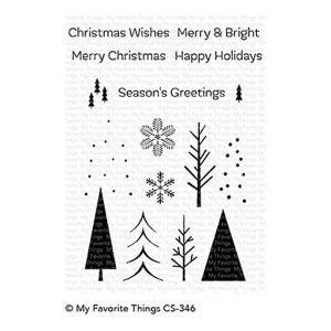 My Favorite Things Trio of Trees Stamp Set