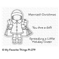My Favorite Things Pure Innocence Holiday Cheer Stamp Set