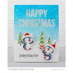 My Favorite Things Sweet Holiday Penguins Stamp Set