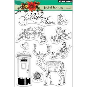 Penny Black Joyful Holiday Stamp Set