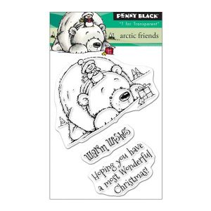 Penny Black Arctic Friends Stamp Set