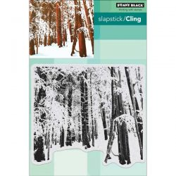 Penny Black Snow Forest Slapstick/Cling Stamp