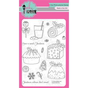 Pink & Main Sweet Christmas Stamp Set