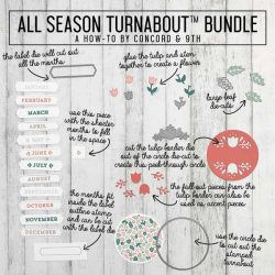 Concord & 9th All Season Turnabout Stamp Set