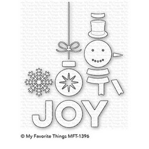 My Favorite Things Filled With Joy Die-namics