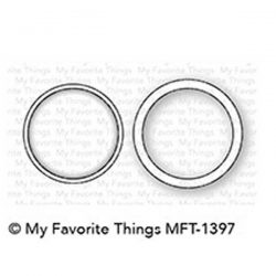 My Favorite Things Mini Circle Shaker Window & Frame Die-namics