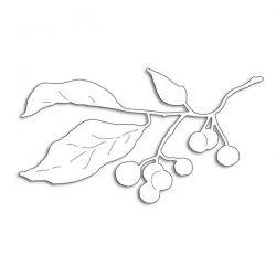 Penny Black Winter Berry Branch Creative Dies