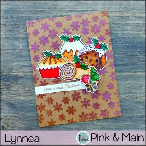 Pink & Main Sweet Christmas Stamp Set class=