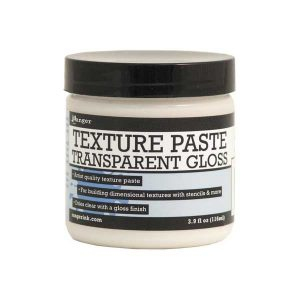 Ranger Transparent Texture Paste – Gloss