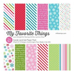 My Favorite Things Candy Land Paper Pack