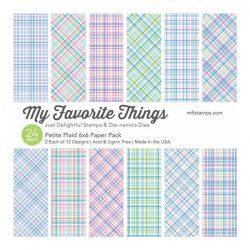 My Favorite Things Petite Plaid Paper Pack