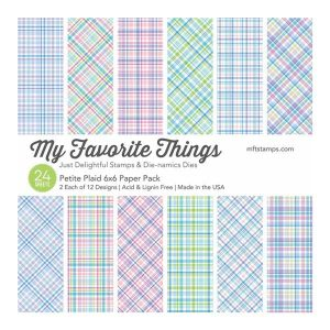 My Favorite Things Petite Plaid Paper Pack