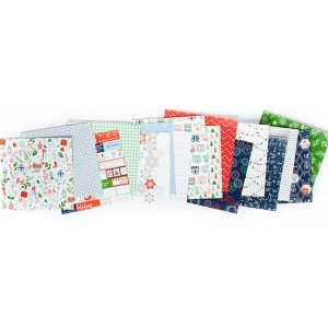 "Pinkfresh Holiday Vibes Paper Pack - 6"" x 6"" class="