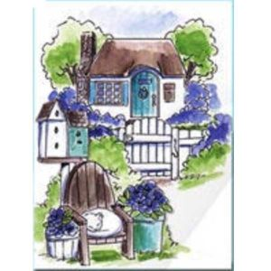 Art Impressions Cottage TryFold Stamp Set
