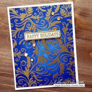 Catherine Pooler Designs Flourishes Background Stamp class=
