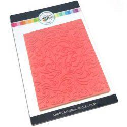 Catherine Pooler Designs Flourishes Background Stamp