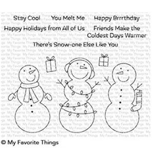 My Favorite Things Frosty Friends Stamp Set