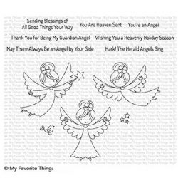 My Favorite Things Little Angels Stamp Set