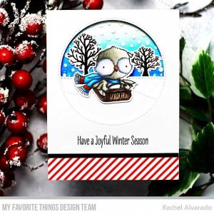 My Favorite Things Warm & Feathered Hugs Stamp Set class=