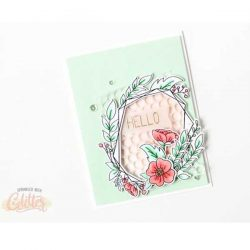 Neat & Tangled Floral Frame Dies