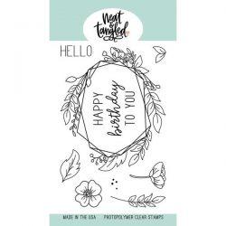 Neat & Tangled Floral Frame Stamp Set