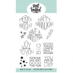 Neat & Tangled Gift Card Box Sentiments Stamp Set