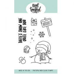 Neat & Tangled Snow Fun Stamp Set