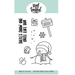 Neat & Tangled Snow Fun Stamp Set