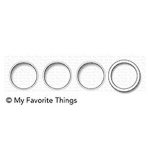 My Favorite Things Circle Trio Shaker Window & Frame