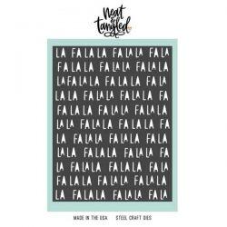 Neat & Tangled Fa La La Cover Plate Die