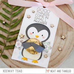 Neat & Tangled Penguin Treat Holder Die