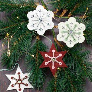 Neat & Tangled Snowflake Stitching Dies class=