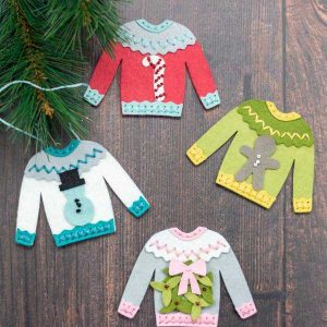 Neat & Tangled Ugly Stitching Sweater Die class=