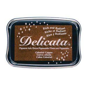 Delicata Pigment Ink Pad – Celestial Copper
