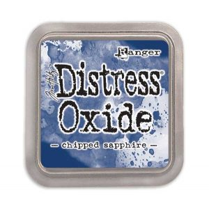 Tim Holtz Distress Oxide Ink Pad – Chipped Sapphire