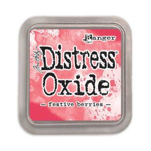 Tim Holtz Distress Oxide Ink Pad – Festive Berries class=