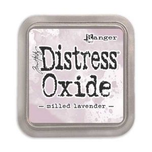 Tim Holtz Distress Oxide Ink Pad – Milled Lavender class=