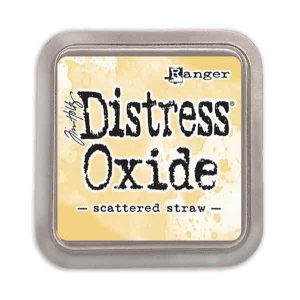 Tim Holtz Distress Oxide Ink Pad – Scattered Straw class=