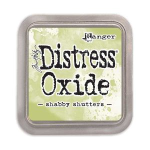 Tim Holtz Distress Oxide Ink Pad – Shabby Shutters class=