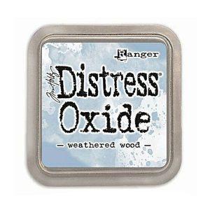 Tim Holtz Distress Oxide Ink Pad – Weathered Wood