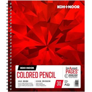 "Koh-I-Noor Colored Pencil Pad - 9""x12"""