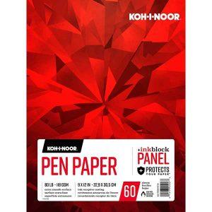 """Koh-I-Noor Pen Paper Pad - 9"""" x 12"""""""