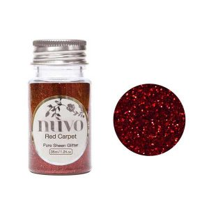 Nuvo Pure Sheen Glitter - Red Carpet