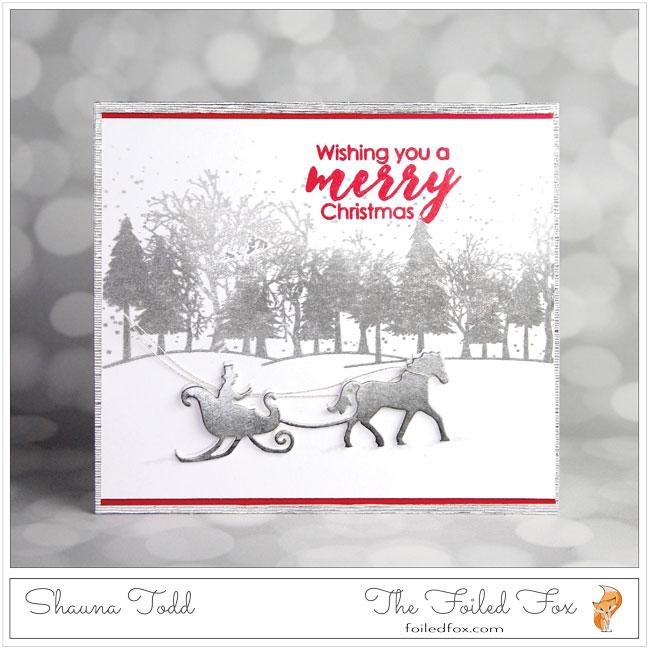 Dashing Through The Snow In A One Horse Open Sleigh The Foiled Fox