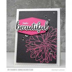 My Favorite Things Beautiful Bloom Stamp