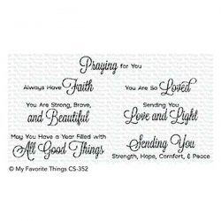 My Favorite Things Beautiful Blessings 2 Stamp Set
