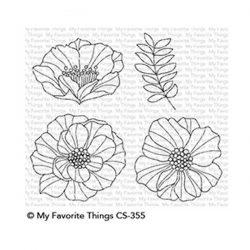 My Favorite Things Brilliant Blooms Stamp Set