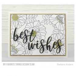 My Favorite Things Brilliant Blooms Stamp Set